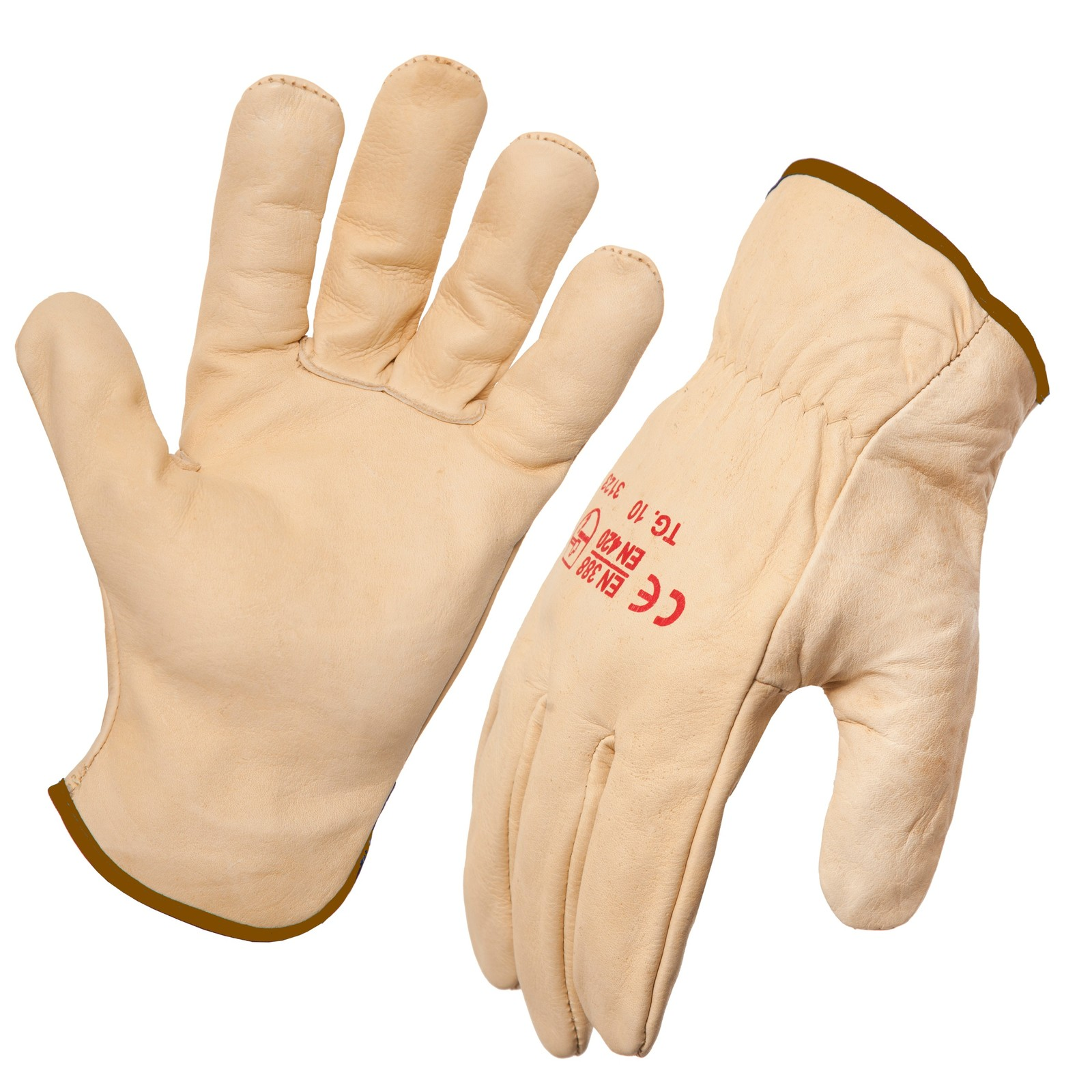 AgBoss Leather Riggers Gloves Size 12 (2XL) 470154