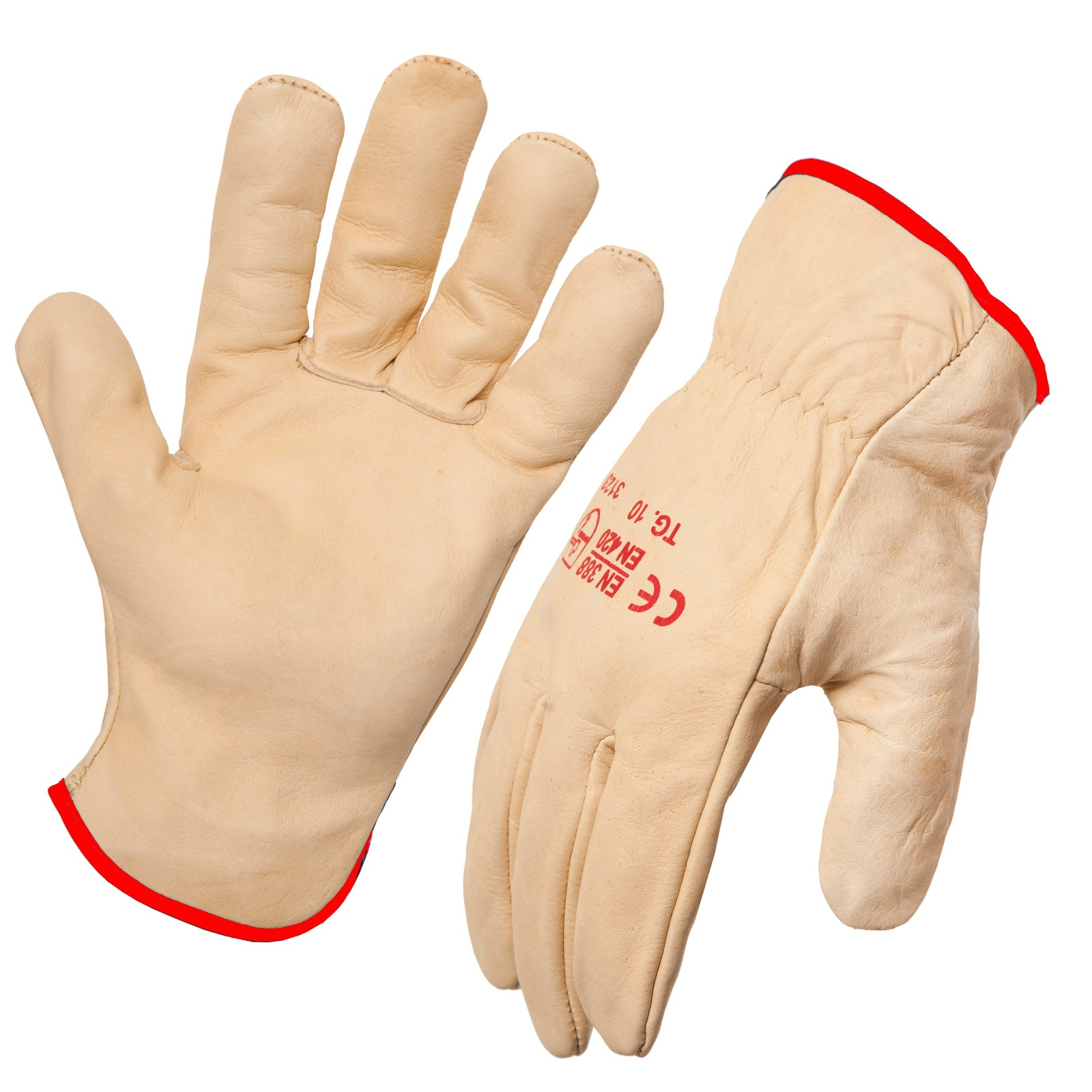 AgBoss Leather Riggers Glove Size 8 (S) 470150
