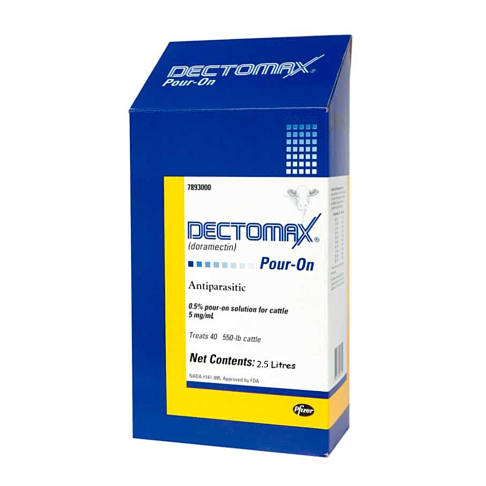 Dectomax Pour On 2.5L